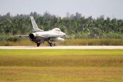 US-Milit?rkampfflugzeug am Florida-Luftwaffenst?tzpunkt lizenzfreies stockfoto