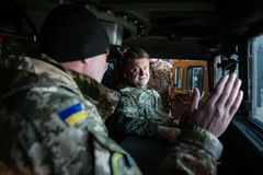 US military assistance to Ukraine Stock Photography