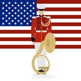 US Military Band Musician Royalty Free Stock Image