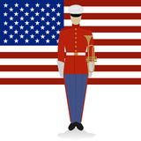 US Military Band Musician-1 Stock Photography