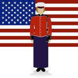 US Military Band Musician-2 Royalty Free Stock Images