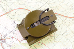 US military compass 4 Royalty Free Stock Images