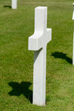 US Military gravestone  Royalty Free Stock Images