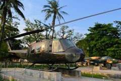 US Military helicopter used during the Vietnam War Royalty Free Stock Images