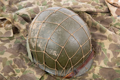 US military helmet of the Second World War Royalty Free Stock Images