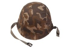 US military helmet Royalty Free Stock Image