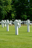 US Military grave  Royalty Free Stock Photos