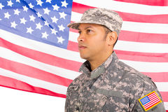 US military man Royalty Free Stock Photos