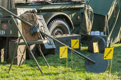 US military mine detector Royalty Free Stock Photography