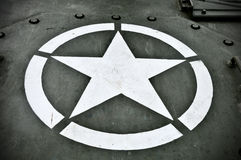 US Military Star Royalty Free Stock Images
