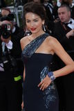 US model Camilla Belle. CANNES, FRANCE - MAY 14: US model Camilla Belle   attends the 'Wall Street: Money Never Sleeps' held at the Palais during the 63rd Cannes Royalty Free Stock Photo