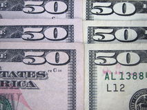 US Money. 50 US dollar banknote royalty free stock images