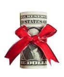 US money gift Royalty Free Stock Image