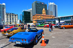 US Muscle Cars V8 Car Show Royalty Free Stock Photography