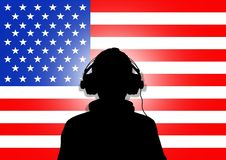 US Music Royalty Free Stock Photography