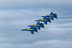 US NANY BLUE ANGELS Royalty Free Stock Images