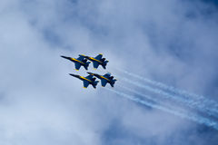 US NANY BLUE ANGELS Stock Photo