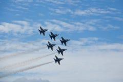 US NANY BLUE ANGELS Stock Photo