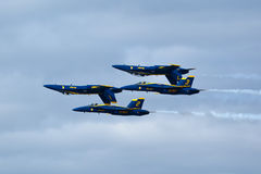 US NANY BLUE ANGELS Stock Images