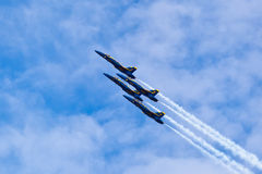 US NANY BLUE ANGELS Royalty Free Stock Photo