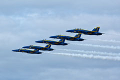 US NANY BLUE ANGELS Royalty Free Stock Image