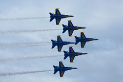 US NANY BLUE ANGELS Stock Image