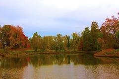 US National Arboretum in the Fall, Washington DC. Royalty Free Stock Photos