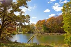 US National Arboretum in the Fall, Washington DC Stock Photo