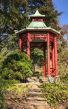 Chinese Red Pagoda Washington DC Stock Photo