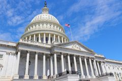 US National Capitol Royalty Free Stock Photography