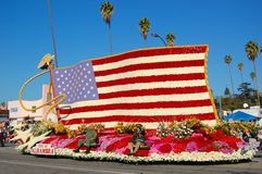 US national flag parade float Stock Image