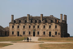 US National Historic Landmark - Old Niagara Fort stock photo