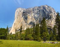 US National Parks, Yosemite National Park, California. Remarkable granite cliffs and waterfalls in mountain landscape - Yosemite National Park, California. US stock photos