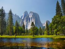 US National Parks, Yosemite National Park, California stock photo