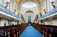 US NAval Academy Chapel Interior Royalty Free Stock Images