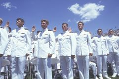 US Naval Academy Graduation Stock Images