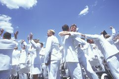 US Naval Academy Graduation Stock Photos