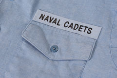 Us naval cadets uniform Stock Photos