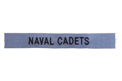 Us naval cadets Royalty Free Stock Photography
