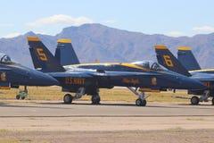 US Navy Błękitni aniołowie 2 obraz royalty free