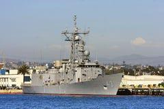 US Navy Battle Ship Stock Photos