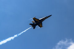 US Navy Blue Angel jet Royalty Free Stock Photos
