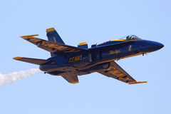 US Navy Blue Angel Stock Images