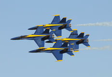 US Navy Blue Angels Stock Image