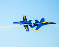 US Navy Blue Angels Airshow Stock Images