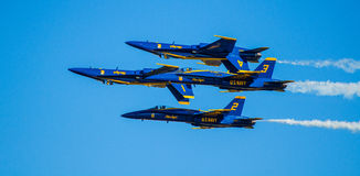 US Navy Blue Angels Airshow Royalty Free Stock Images