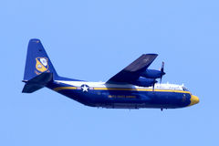 US Navy Blue Angels Fat Albert Royalty Free Stock Images