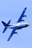 US Navy Blue Angels Fat Albert Stock Images