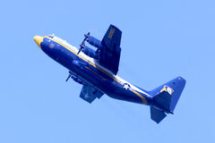 US Navy Blue Angels Fat Albert Royalty Free Stock Image