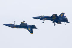US Navy Blue Angels Royalty Free Stock Images